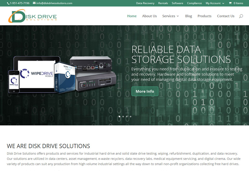 Disk Drive Solutions